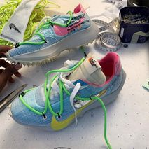 Virgil Abloh Teases New Colorful OFF-WHITE x Nike Sneaker