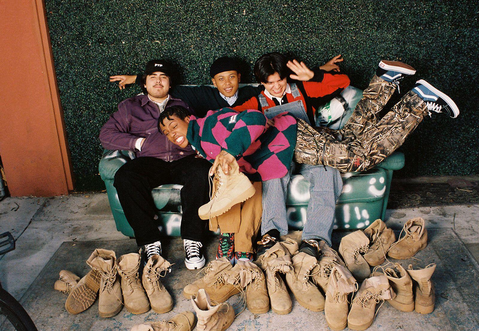 Look 2, L-R, Manny, Baby, Ivan, Jody
