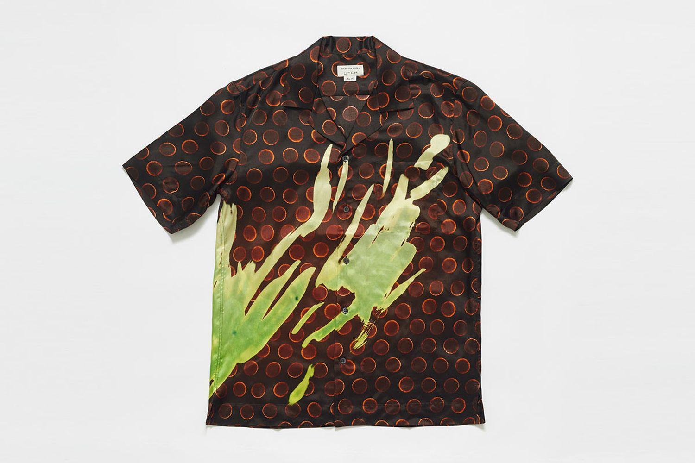 Carltone Len Lye Print Shirt