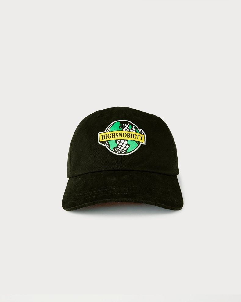 Highsnobiety x L'AS du FALLAFEL - Logo Cap Black