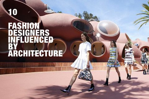 10 Fashion Designers Influenced By Architecture Highsnobiety