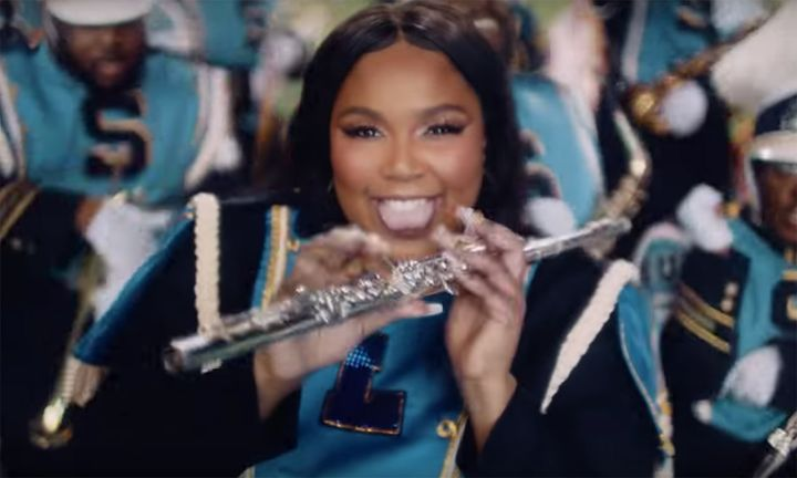 Lizzo Good as Hell video marching band
