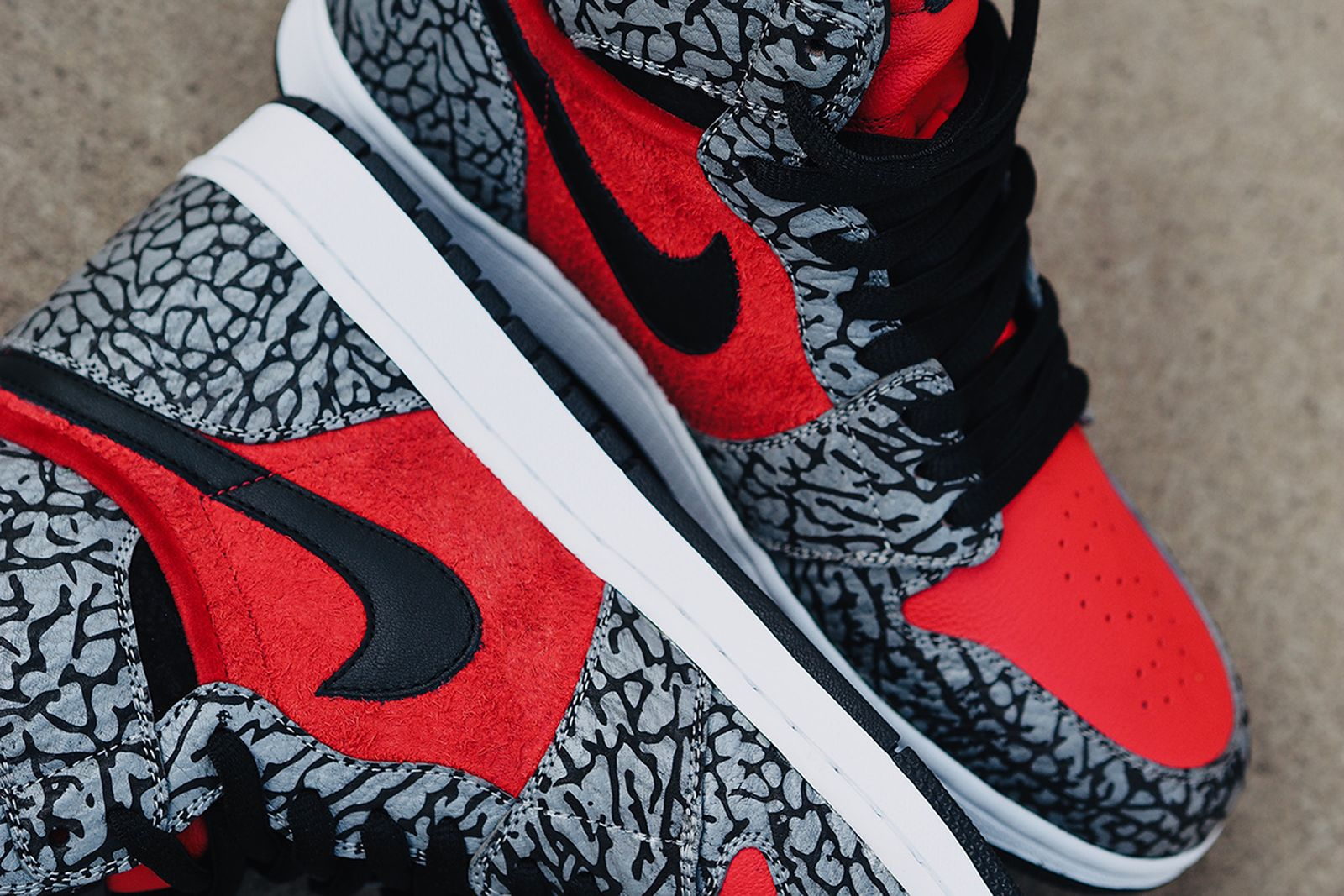 supreme nike sb air jordan 1 high red cement release date price BespokeIND nike air jordan 1