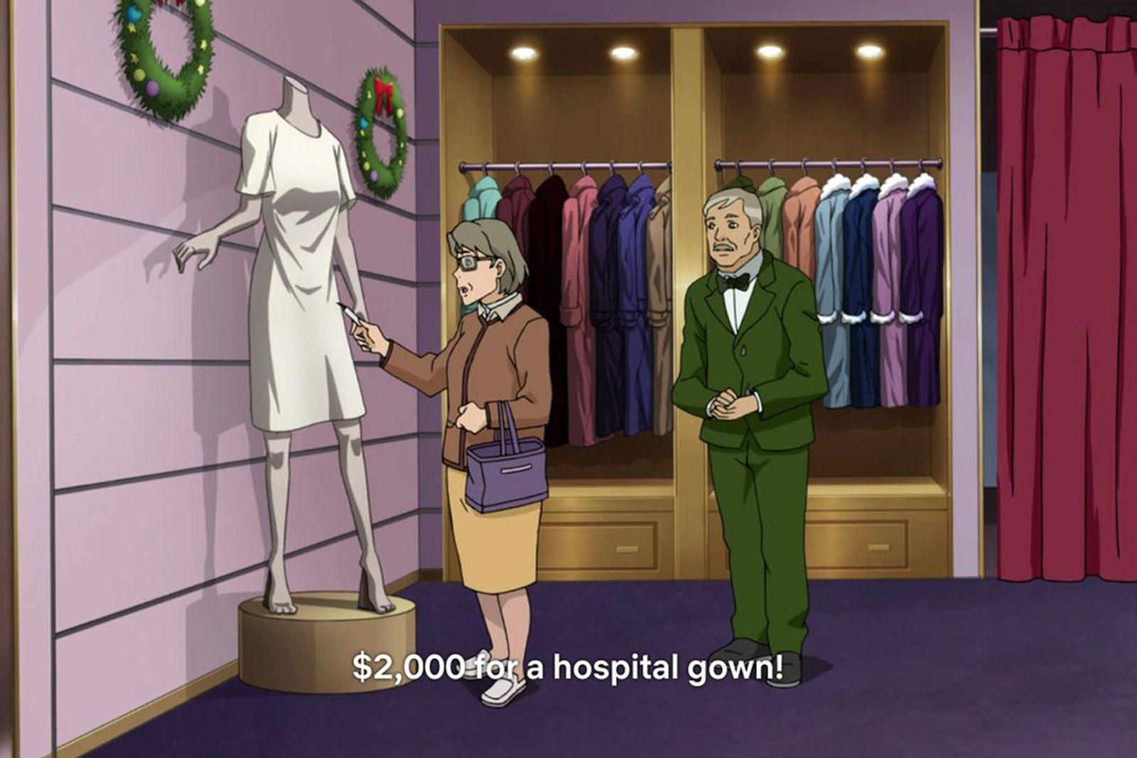 neo yokio pink christmas fashion references anime jaden smith netflix