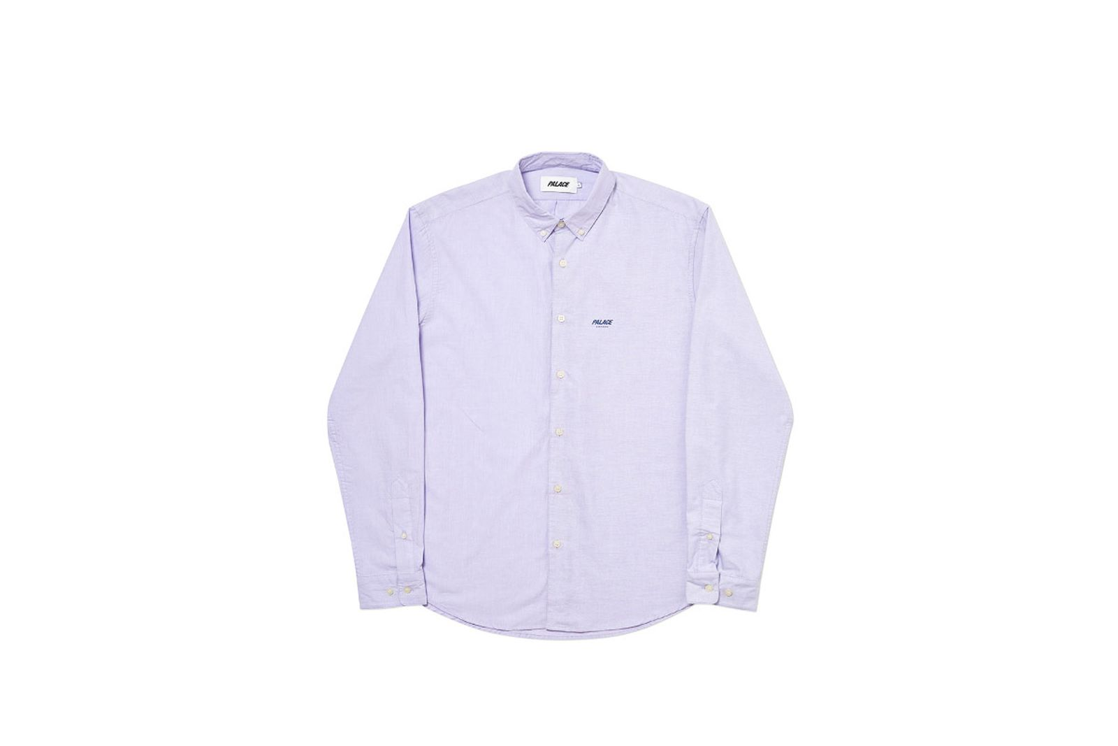 Palace 2019 Autumn Shirt Heavy Blender lilac front fw19