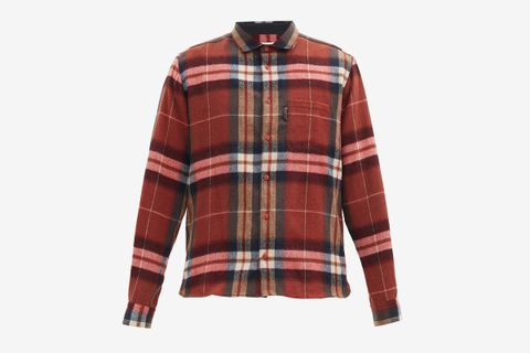 Curtis Check Wool-blend Flannel Shirt