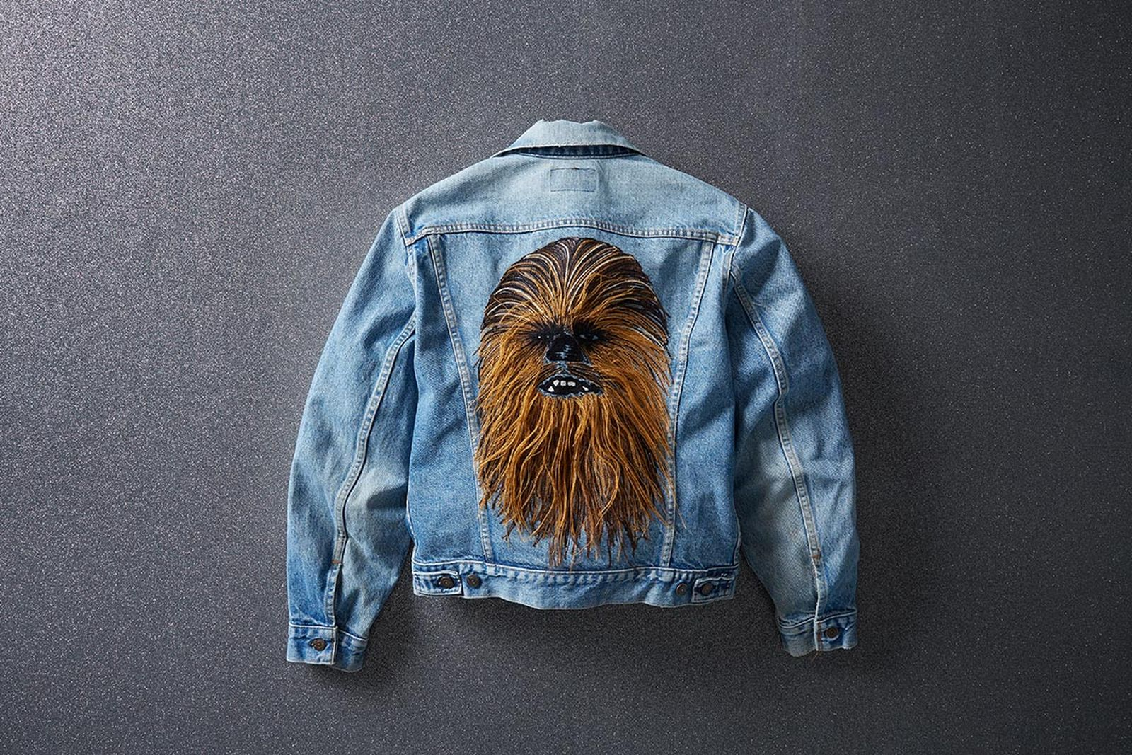 Levi's Chewbacca Trucker Jacket