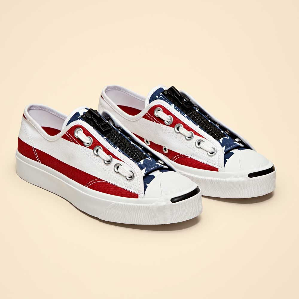 Converse & TheSoloist Unveil a Patriotic Take on the Jack Purcell