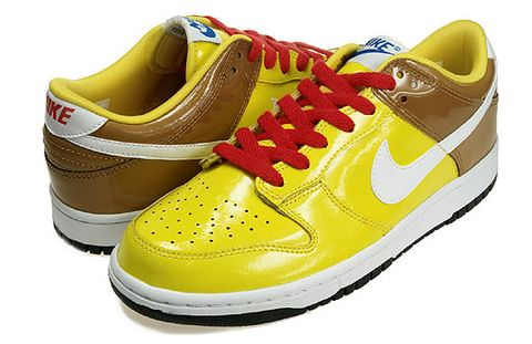"""huge discount 48e28 62b42 The Nike Dunk Low """"Spongebob"""" has arrived at LTD. The sneaker comes in the  colors of the famous cartoon character, without having a direct link in the  form ..."""