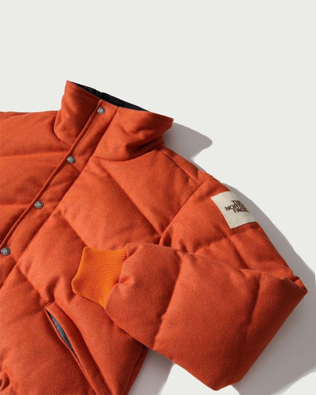 The North Face Brown Label — Larkspur Wool Down Jacket Heritage Orange Men - Image 3