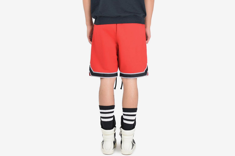 Fleece Athletic Short