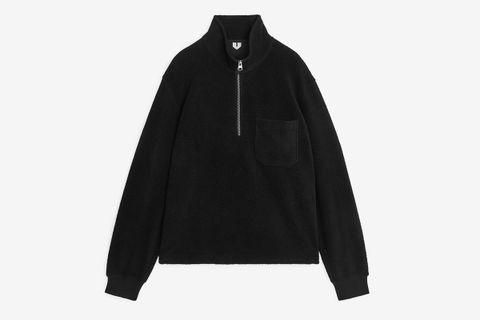 Half-Zip Fleece Jumper