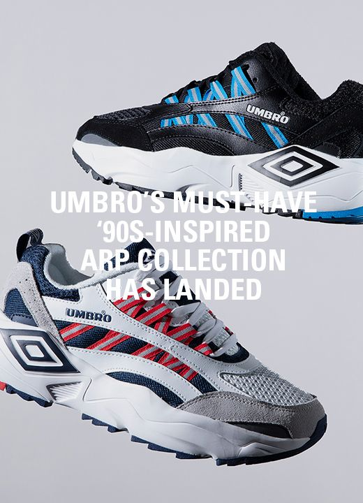 296c7f7c2372 Umbro Revives Iconic  90s Silhouettes for Chunky ARP Sneaker Collection