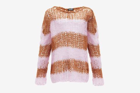 Oversized Open-knit Sweater