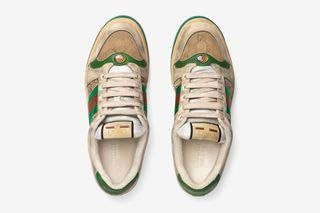 ec3fdf7ffb9 Gucci Just Dropped  870 Distressed Sneakers
