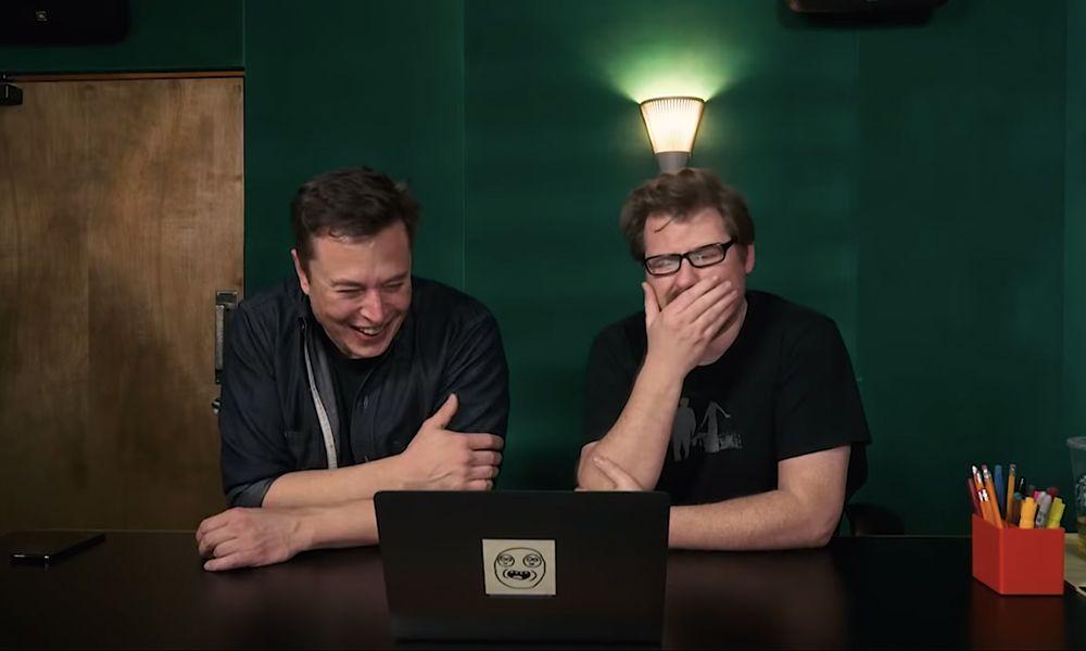 Watch Elon Musk & Justin Roiland Host 'Meme Review'