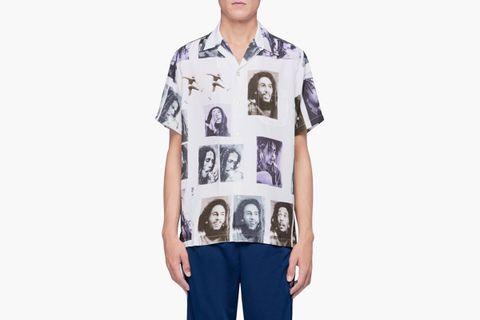 Bob Marley Short Sleeve Shirt