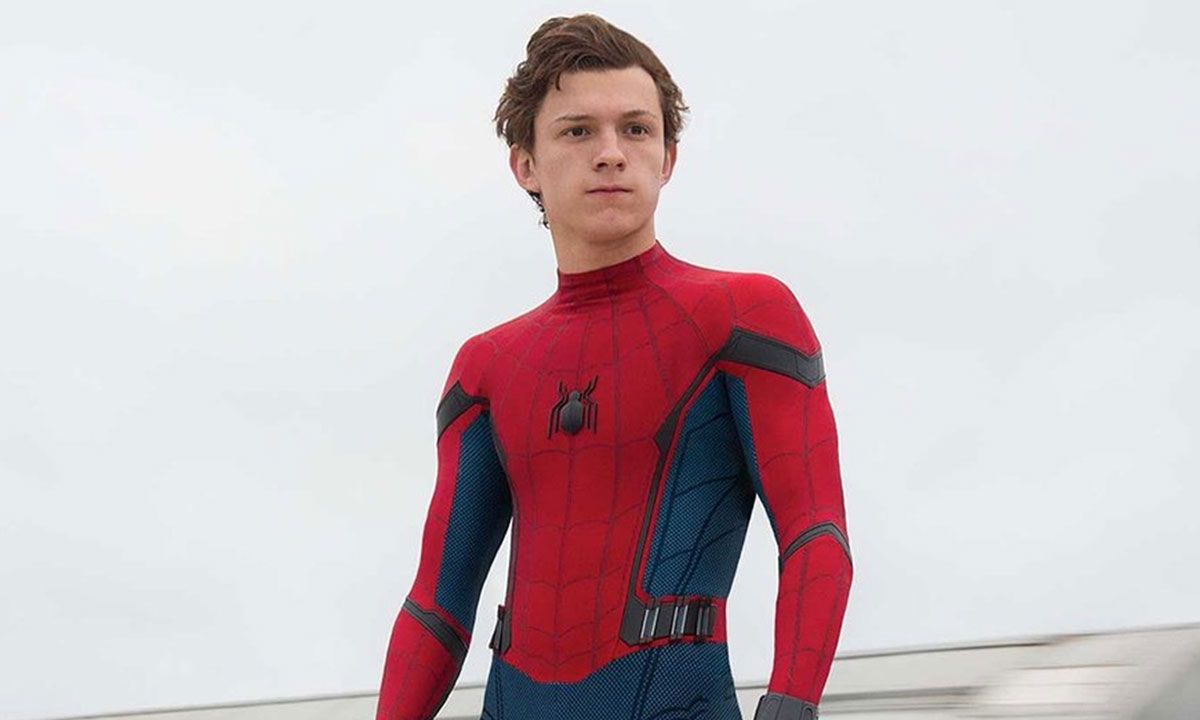 """Tom Holland as Spider-Man in """"Spider-Man: Homecoming"""" (2017)"""