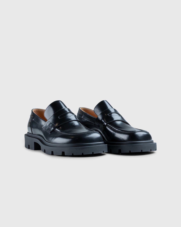 Maison Margiela – Leather Loafers Black - Image 2