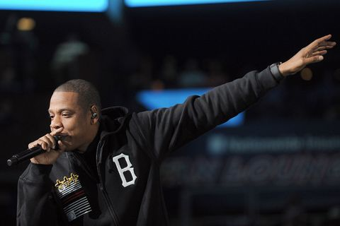 Jay-Z performing at Rock the Vote 2012
