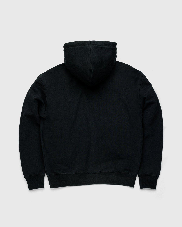 Highsnobiety — Not in Paris 3 Logo Hoodie Black - Image 2