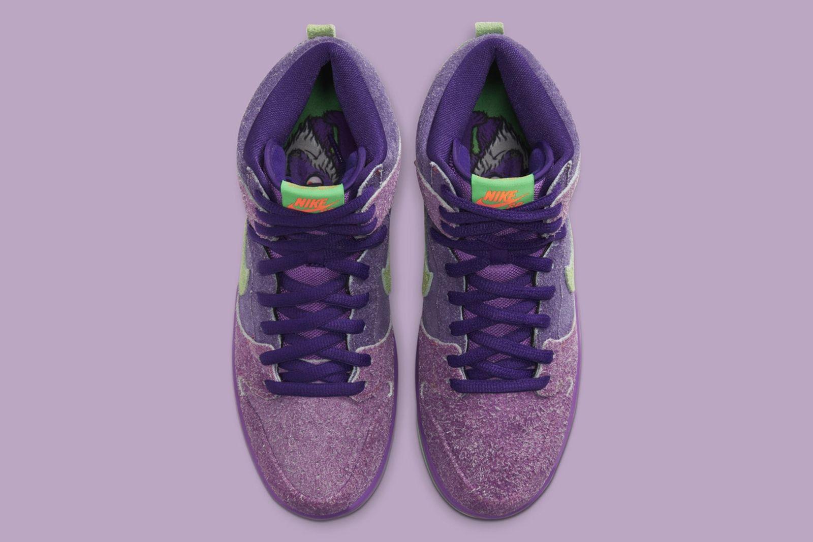"""nombre Falange Directamente  Nike SB Dunk High """"Reverse Skunk"""": Rumored Release Information"""