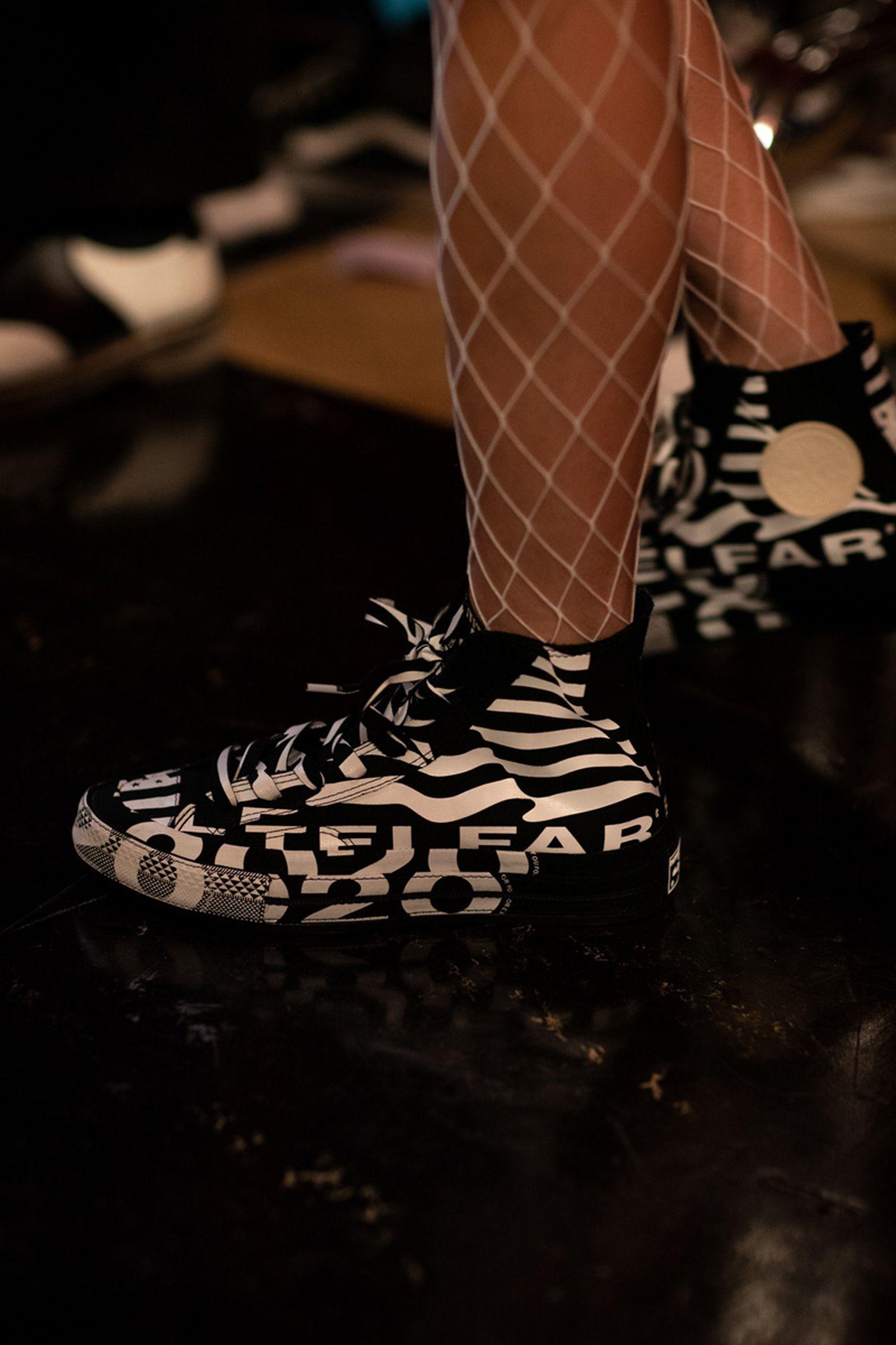 telfar paris fashion week ss20 Converse