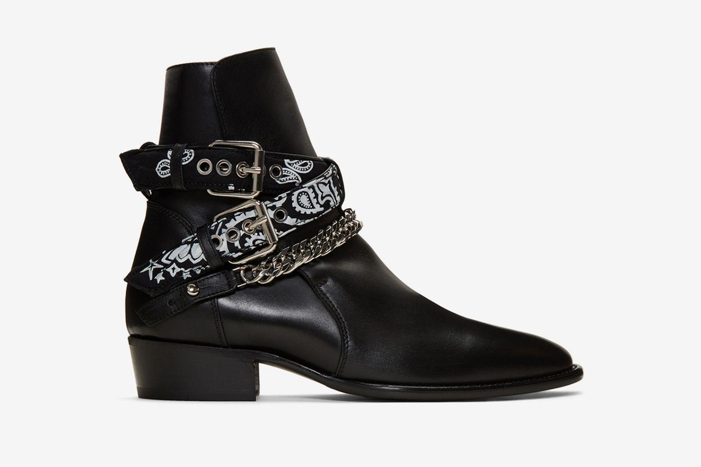 Bandana Buckle Boots