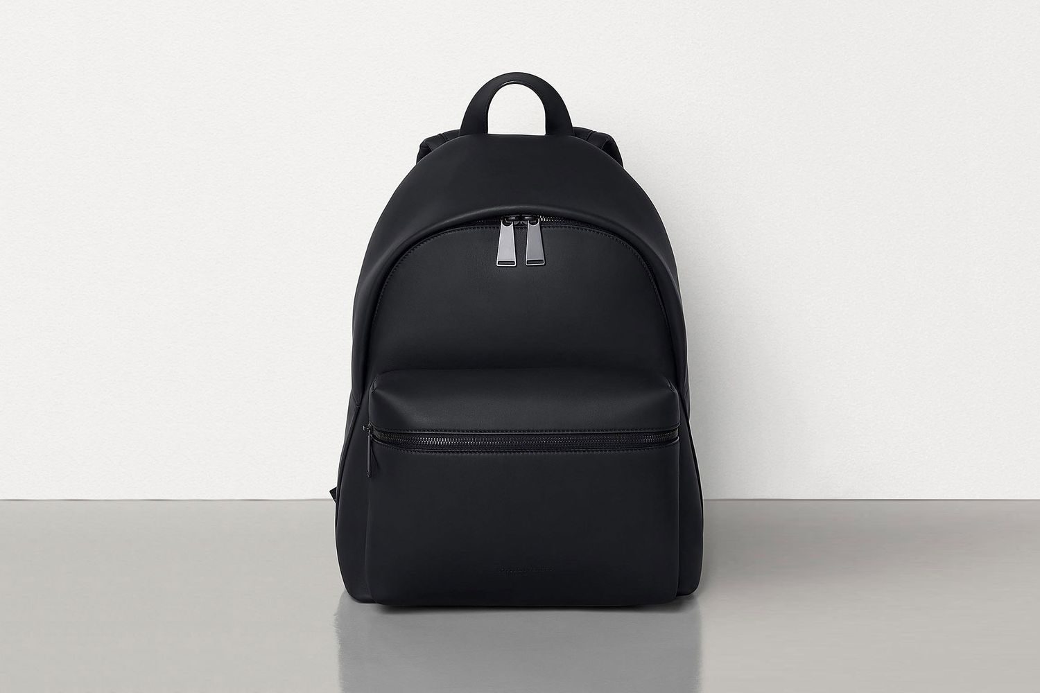 Backpack in Matt-finish Leather