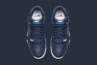 """best loved deb24 d2814 A Closer Look at the fragment design x NikeLab Air Trainer 1 SP """"US Open""""  Pack"""