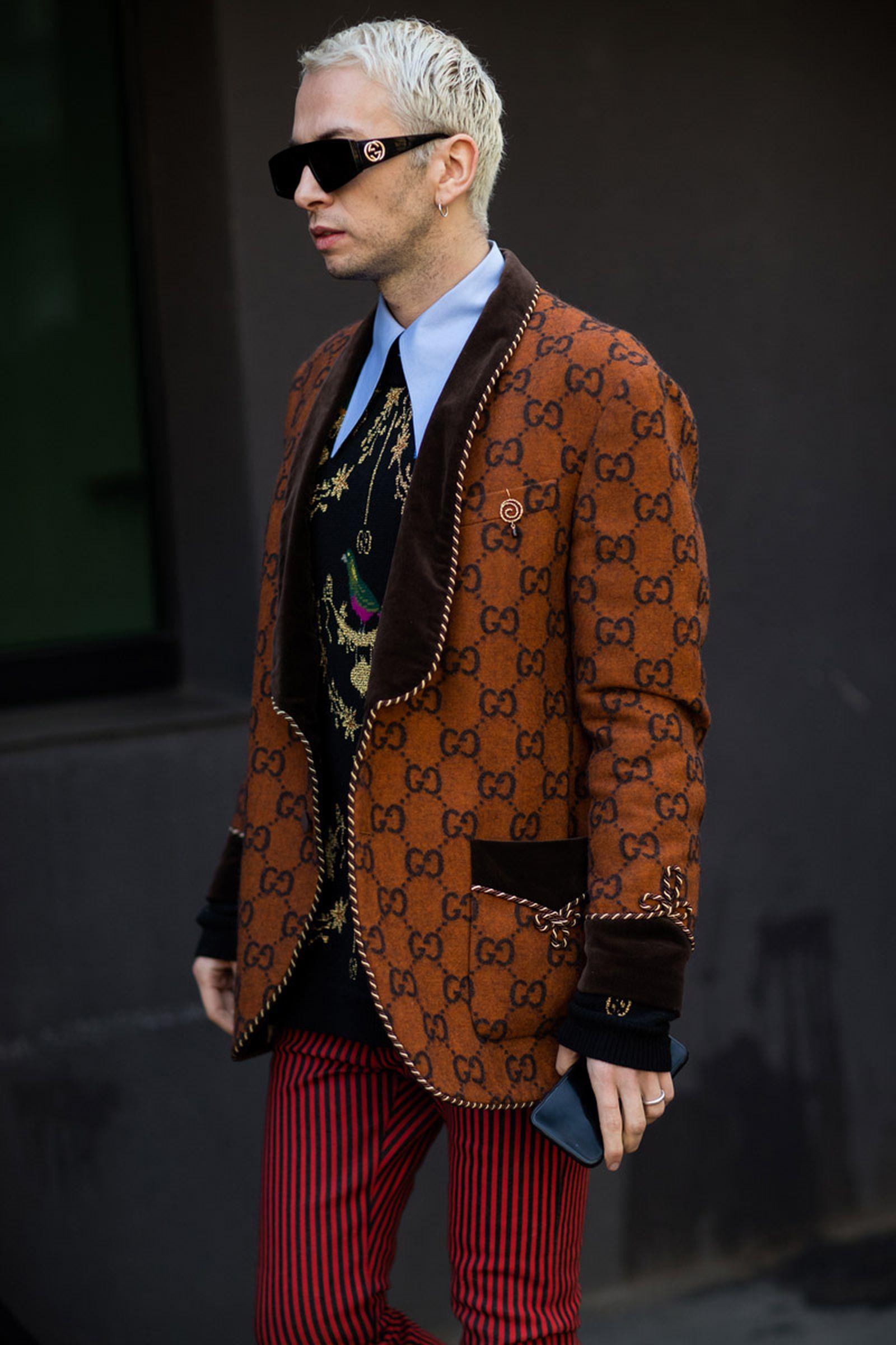 17milan fashion week street style 032c HBA x Colmar Supreme