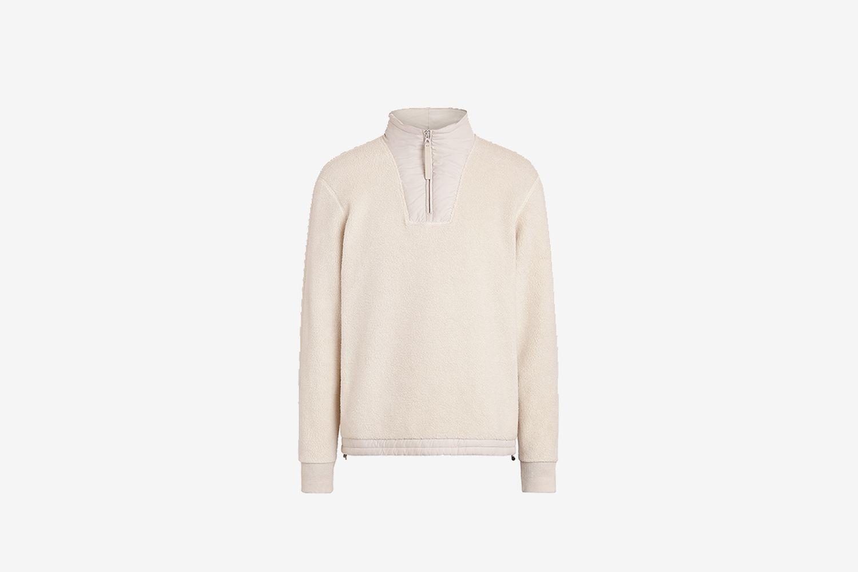 ERMENEGILDO ZEGNA Cotton Cashmere Sweatshirt