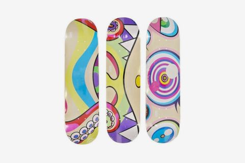 Octopus Skateboard Deck Set