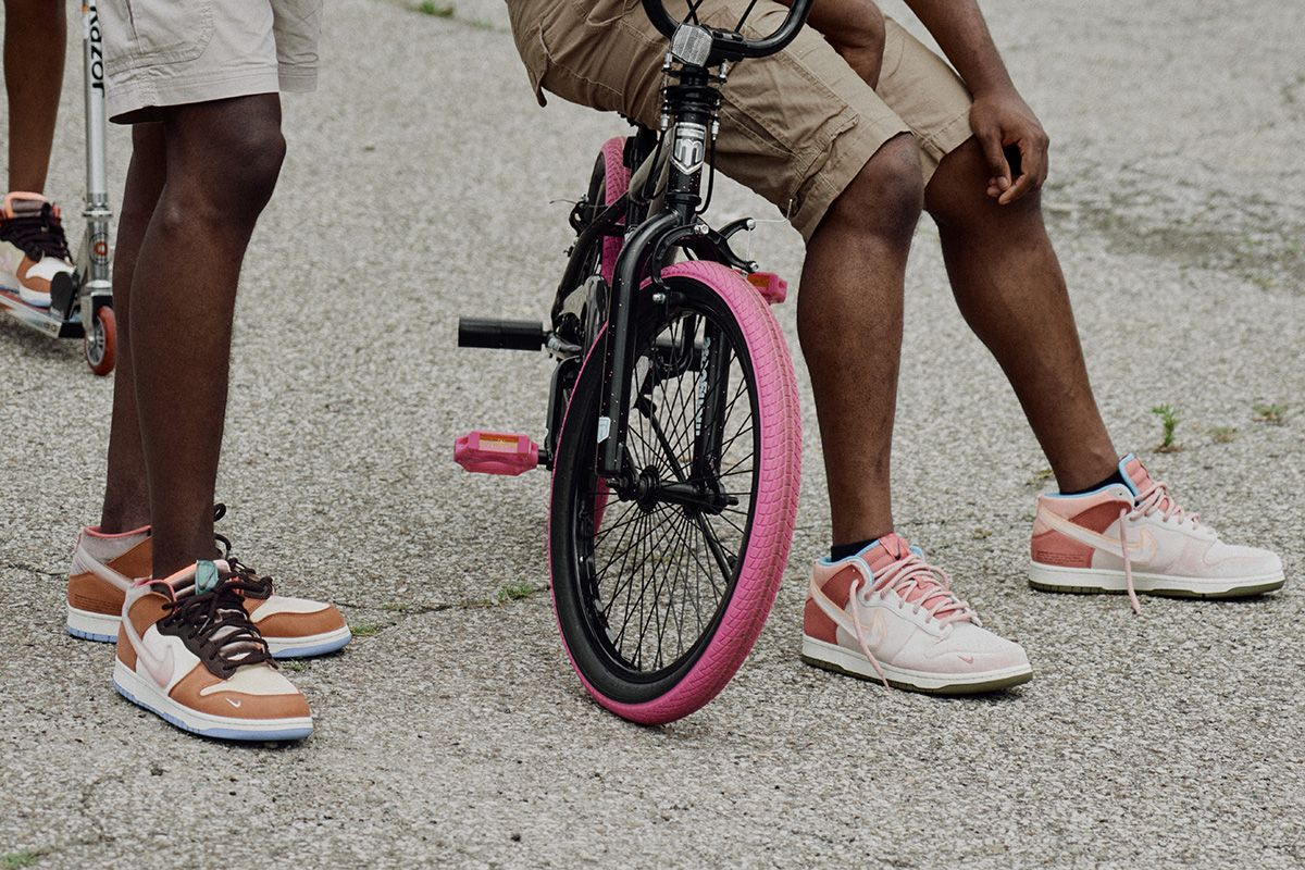 """More Than a Collab: Social Status' """"Free Lunch"""" Dunks Channel Purpose Beyond Product"""