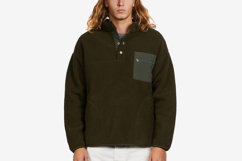 Boa Fleece Pullover Shirt