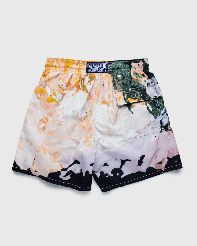 Vilebrequin x Highsnobiety — Pattern Shorts Beige - Image 2