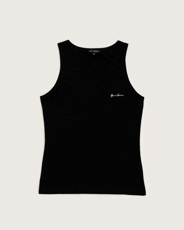 Versace Tank Top Black