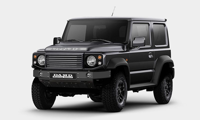 This Body Kit Turns the Suzuki Jimny Into a Land Rover Defender
