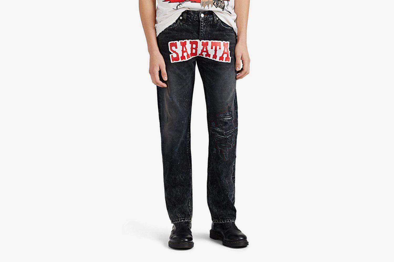Sabata Distressed Jeans