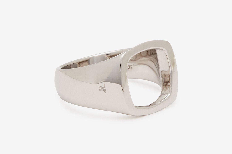 Cushion Open Ring
