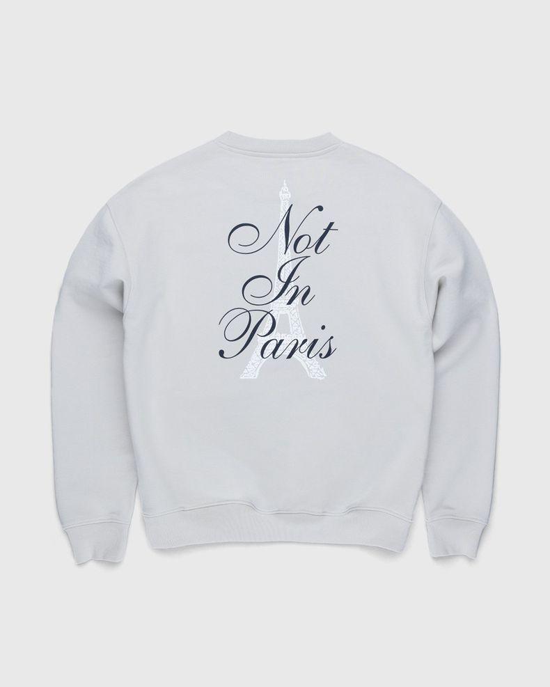 Highsnobiety — Not In Paris 3 Tour Eiffel Crewneck Natural