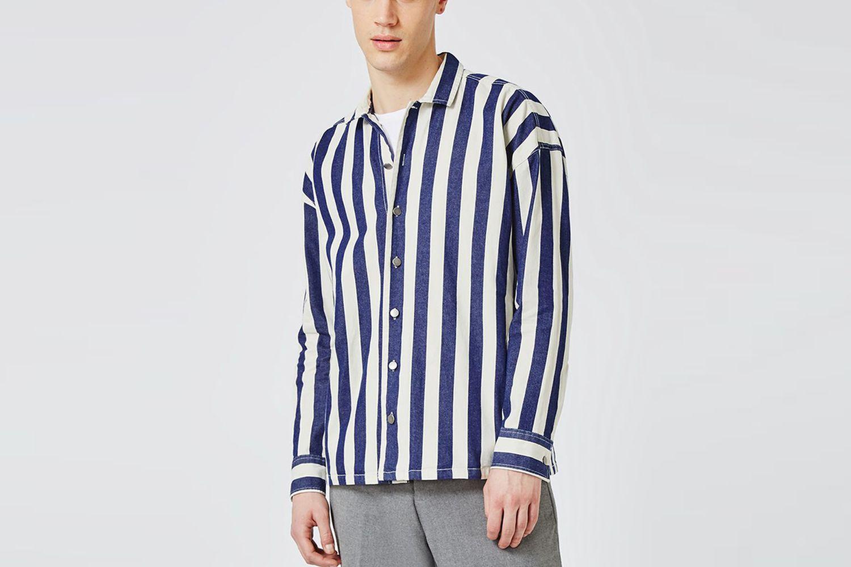 Stripe Overshirt