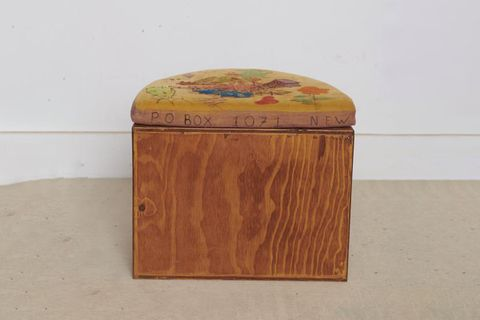 Custom Half Moon Stool