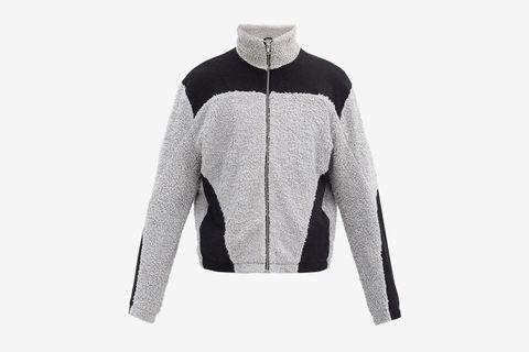 Colour-Block Fleece Jacket