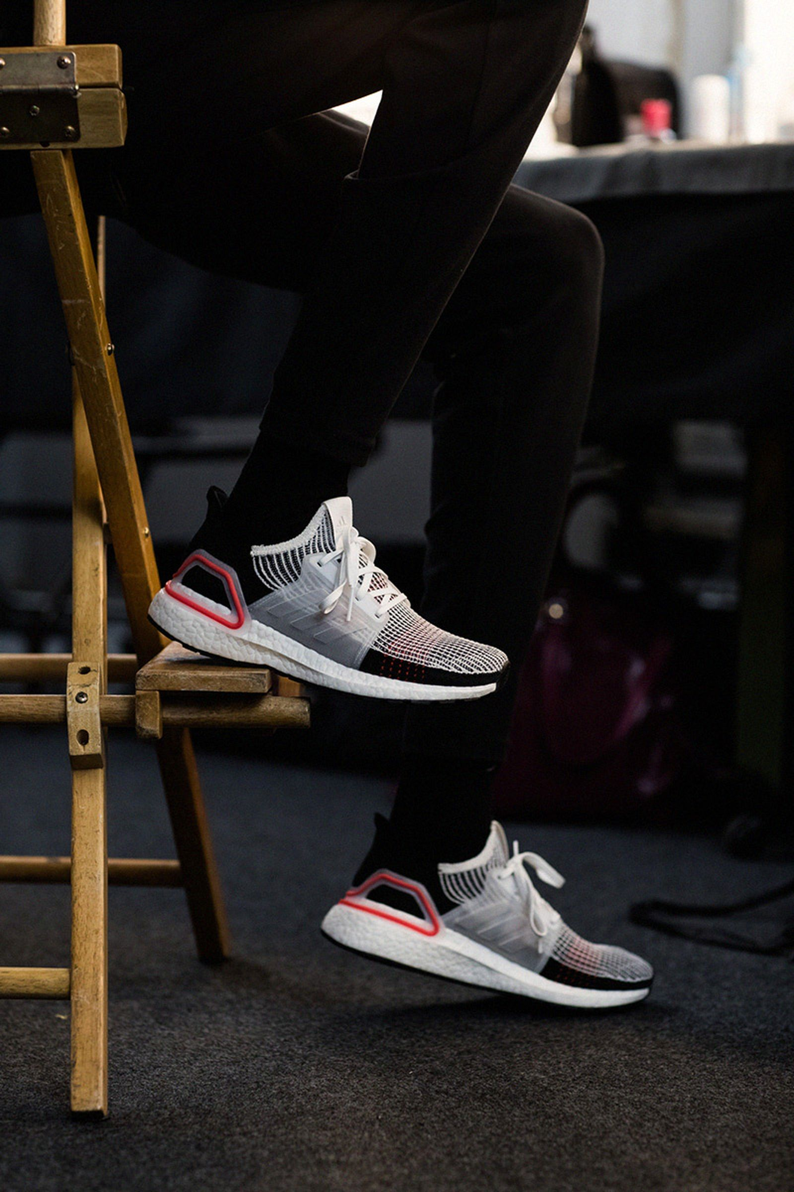 heres why ultra boosts were my go to fashion week sneaker adidas Running adidas ultra boost