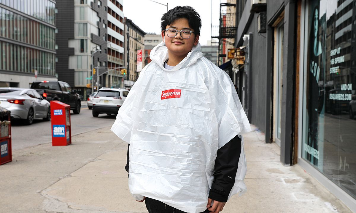 Here's Your First Look at Supreme's Free Poncho For SS20