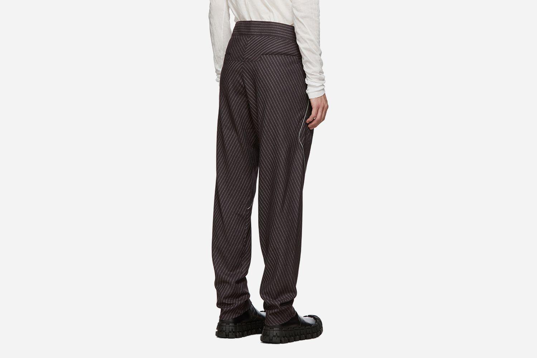 Rex Pinstripe Trousers