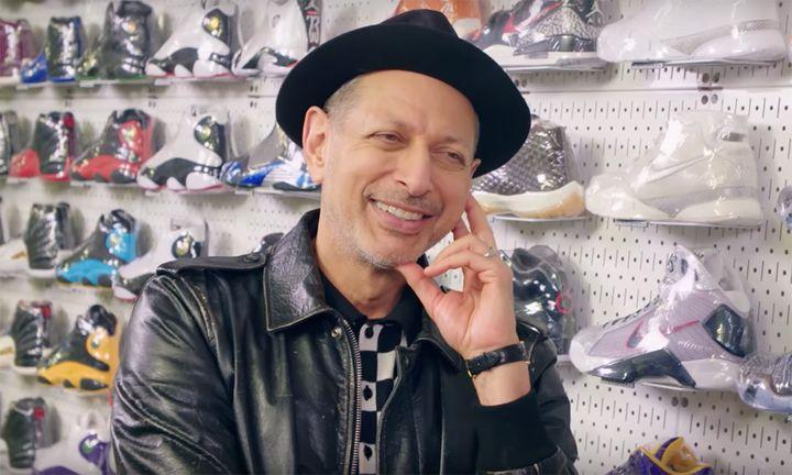 Jeff Goldblum Sneaker Shopping