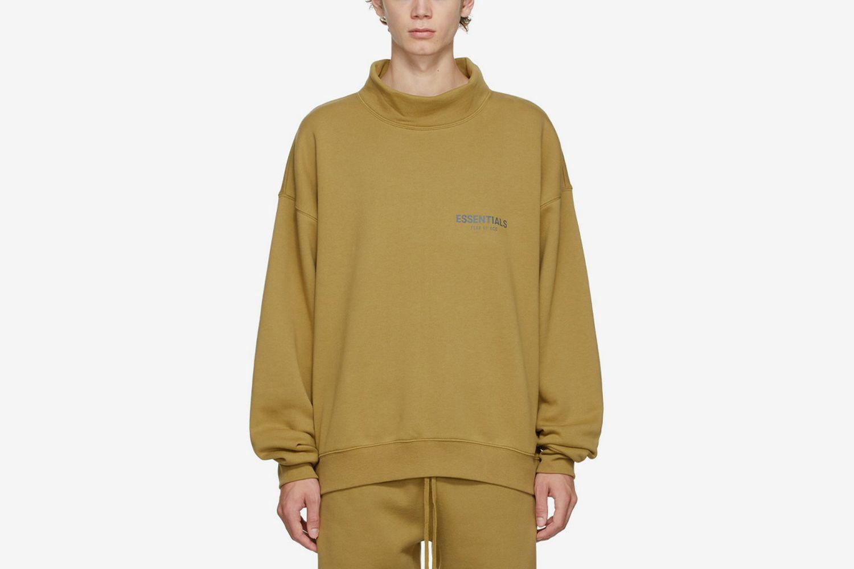 Mock Neck Sweatshirt