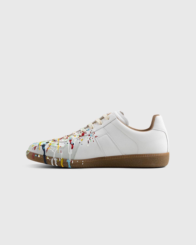 Maison Margiela – Replica Paint Drop Sneakers White - Image 7